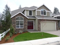 Photo of a completed Kingfisher plan by Gertz Fine Homes