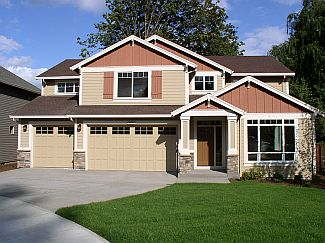 photo of a completed Oriole home plan by Gertz Fine Homes