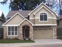 photo of a completed Falcon III home plan by Gertz Fine Homes