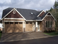 A completed Whippoorwill home plan by Gertz Fine Homes