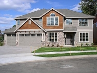 photo of a completed Tanager home plan by Gertz Fine Homes