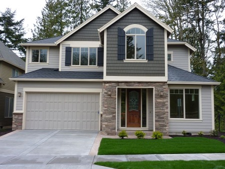 photo of a completed Martin home plan by Gertz Fine Homes