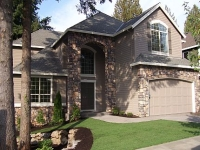 photo of a completed Cardinal home plan by Gertz Fine Homes
